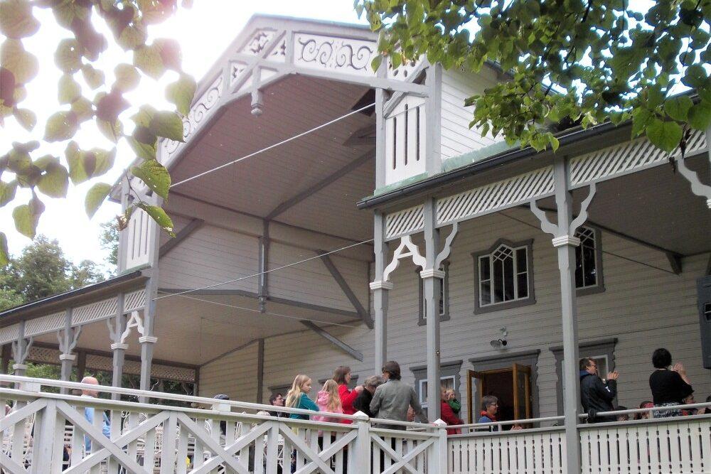 kulttuuritie Ravintola Kappeli, Loviisa