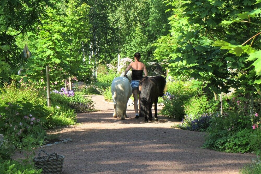 kulttuuritie Eija's Garden, Loviisan Ruotsinpyhtää