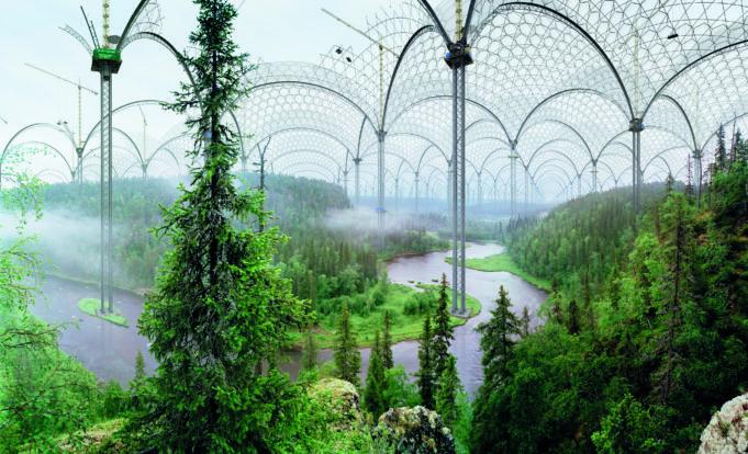 Heinon taidesäätiön teoksista kootussa Luonnon edestä-näyttelyssä nousee esiin nykyiseen luontosuhteeseemme  kuuluva huoli elinympäristömme tulevaisuudesta 4