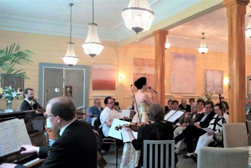 kulttuuritie Konsertti Puistoravintola Loviisan Kappelissa