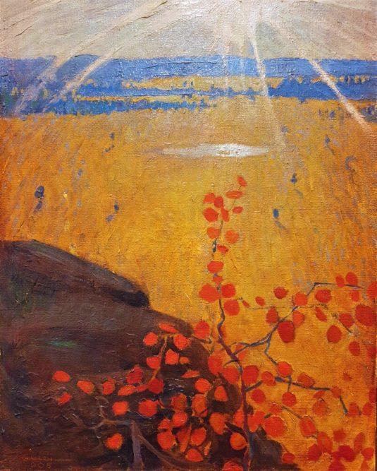 Jälkikirjoitus Kouvolan taidemuseo Poikilossa olleesta  Emil Aaltosen museon taideaarteiden näyttelystä 11