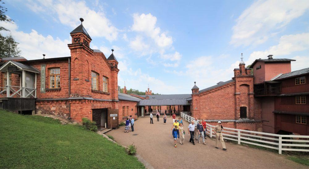 Maailmanperintökohde Verlan tehdasmuseo avaa ovensa yleisölle sunnuntaina 2.5.2021 2
