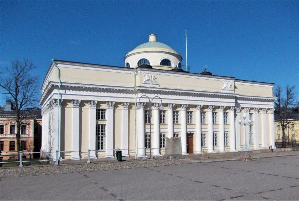 Kansalliskirjasto Carl Ludvig Engel, kuva Marko Oja