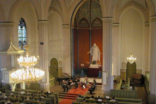 kulttuuritie Loviisan Sibeliuspäivät, Loviisan kirkko Kuva: Ari Haimi