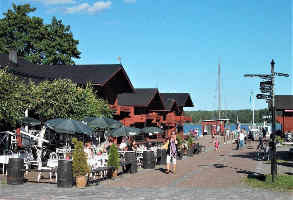 Laivasillan kesäravintoloita Loviisassa