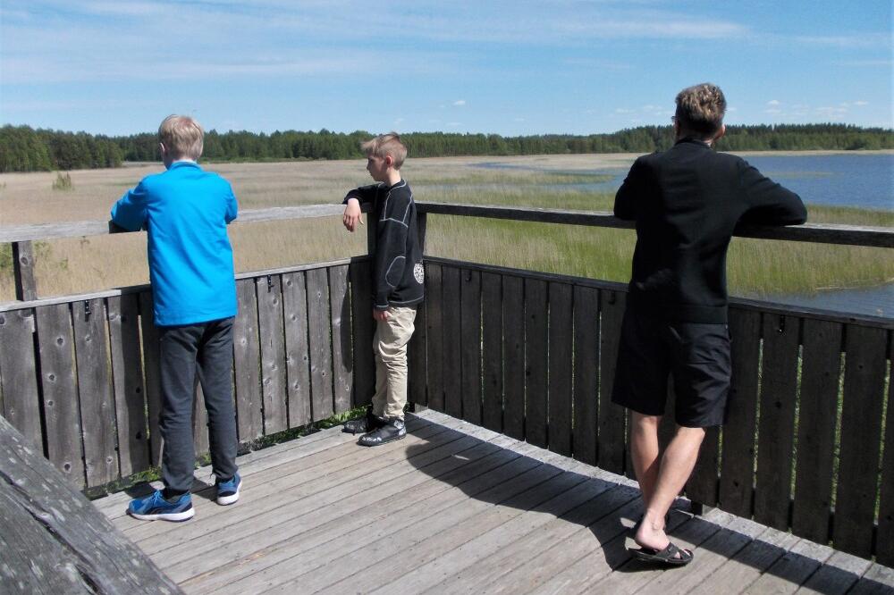 Mukulanlahden lintutorni, Iitin Urajärvi