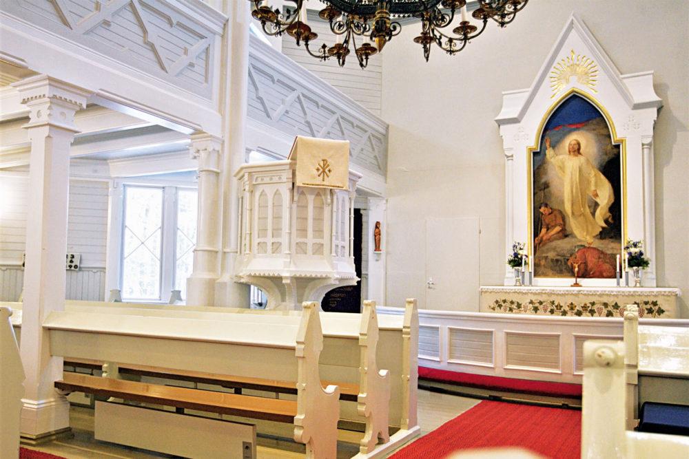 Kulttuuritien reittialueen kirkkoja 4