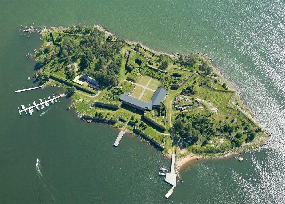 Svartholmin linnoitussaari Loviisa