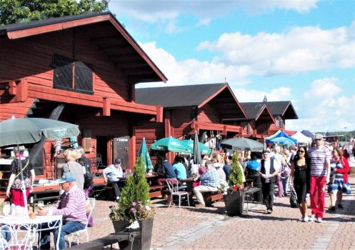 Loviisan Laivasillan tapahtumakeskus ja kesäravintolat