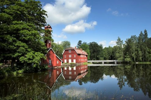 Strömforsin ruukki, Loviisan Ruotsinpyhtää