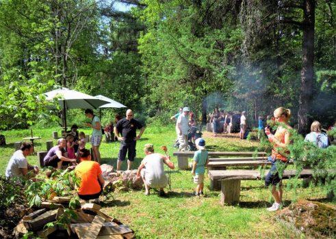 Arboretum Mustilan retkipaikka