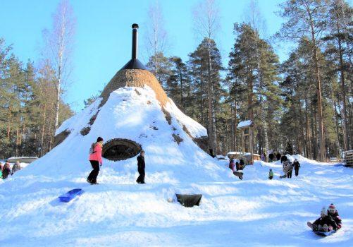 Kettumäen kansanpuisto, Kuusankoski