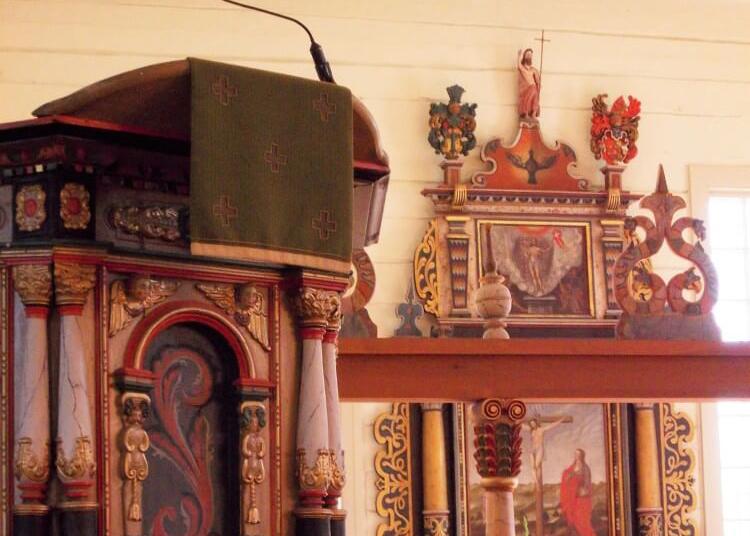 Kulttuuritien reittialueen kirkkoja 6