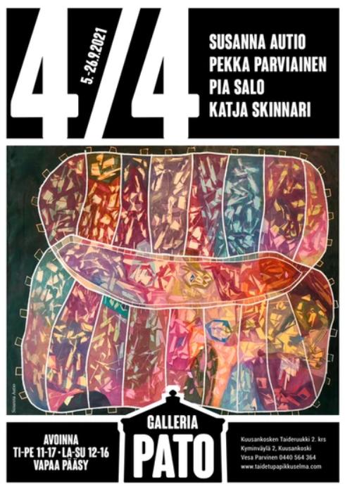 Kuusankosken Taideruukin 2. kerroksen galleriat täyttyvät näyttelyistä kolmen viikon jaksoissa. Muusikko Pave Maijasen (1950-2021) ottamien valokuvien näyttely Pato Klubilla 24.10.2021 saakka. 2