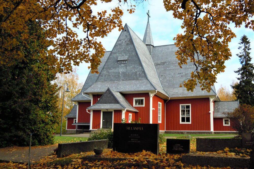 Kulttuuritien reittialueen kirkkoja 7