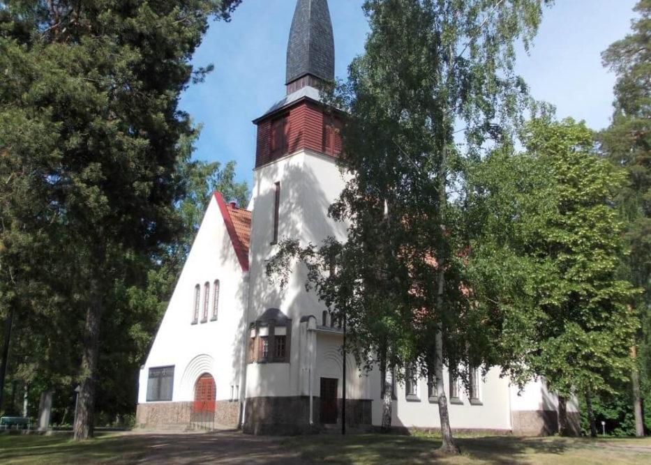 Kulttuuritien reittialueen kirkkoja 11